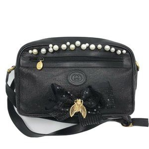 GUCCI Vintage Crossbody Customized with Bow and Vi